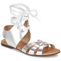 Schoenen Dames Sandalen / Open schoenen Ippon Vintage SAND LINE Zilver
