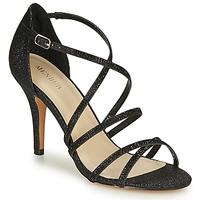 Schoenen Dames Sandalen / Open schoenen Menbur ASTRANTIA Zwart