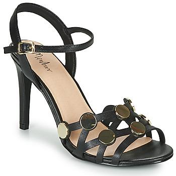 Schoenen Dames Sandalen / Open schoenen Menbur CACCURI Zwart