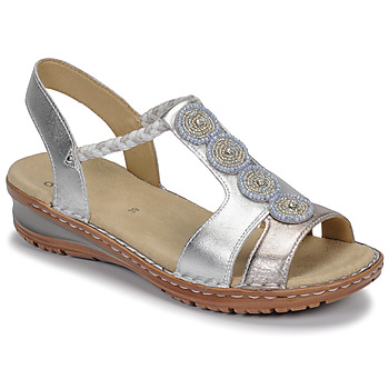 Schoenen Dames Sandalen / Open schoenen Ara HAWAII Wit / Zilver