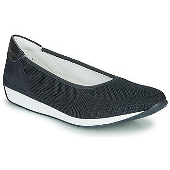 Schoenen Dames Lage sneakers Ara PORTO-FUSION Blauw