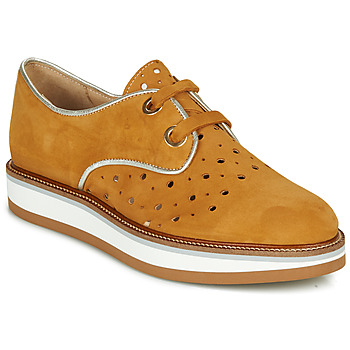 Schoenen Dames Derby Philippe Morvan NAXY Brown