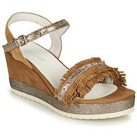 Schoenen Dames Sandalen / Open schoenen Regard DURTAL V2 CROSTA CUOIO Brown