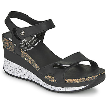 Schoenen Dames Sandalen / Open schoenen Panama Jack NICA Zwart