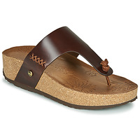 Schoenen Dames Slippers Panama Jack QUINOA Brown