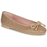 Schoenen Dames Ballerina's Pretty Ballerinas BELLE SAND Goud