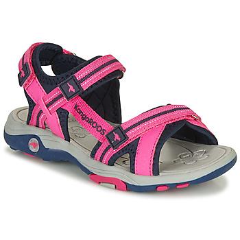 Schoenen Meisjes Sandalen / Open schoenen Kangaroos K-LENI Roze