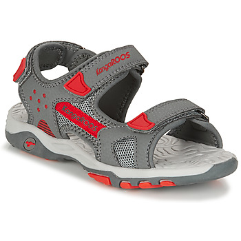Schoenen Jongens Sandalen / Open schoenen Kangaroos K-CELTIC Grijs / Orange