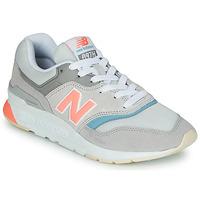 Schoenen Dames Lage sneakers New Balance 997 Grijs / Blauw / Roze