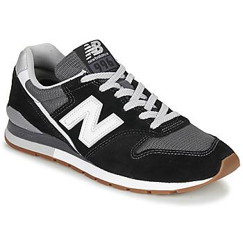 Schoenen Lage sneakers New Balance 996 Zwart / Wit