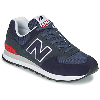 Schoenen Lage sneakers New Balance 574 Blauw