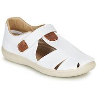 Schoenen Jongens Sandalen / Open schoenen Citrouille et Compagnie GUNCAL Wit