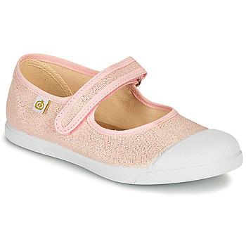 Schoenen Meisjes Ballerina's Citrouille et Compagnie APSUT Roze