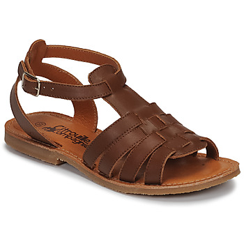 Schoenen Meisjes Sandalen / Open schoenen Citrouille et Compagnie MINIBOU Brown