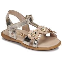 Schoenen Meisjes Sandalen / Open schoenen Citrouille et Compagnie MARELLE Zilver