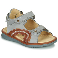 Schoenen Jongens Sandalen / Open schoenen Citrouille et Compagnie MASTIKO Grijs
