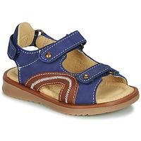 Schoenen Jongens Sandalen / Open schoenen Citrouille et Compagnie MASTIKO Blauw