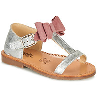 Schoenen Meisjes Sandalen / Open schoenen Citrouille et Compagnie MELINDA Roze / Gold