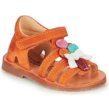 Schoenen Meisjes Sandalen / Open schoenen Citrouille et Compagnie MIETTE Orange