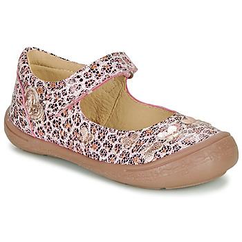 Schoenen Meisjes Ballerina's Citrouille et Compagnie JALIPINE Leopard
