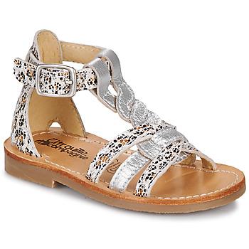 Schoenen Meisjes Sandalen / Open schoenen Citrouille et Compagnie GITANOLO Leopard