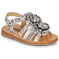 Schoenen Meisjes Sandalen / Open schoenen Citrouille et Compagnie MALINETTE Leopard