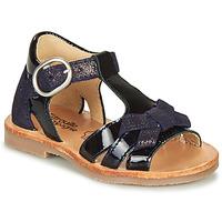 Schoenen Meisjes Sandalen / Open schoenen Citrouille et Compagnie MOLINETTE Marine