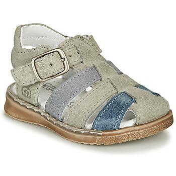 Schoenen Jongens Sandalen / Open schoenen Citrouille et Compagnie ZIDOU Grijs