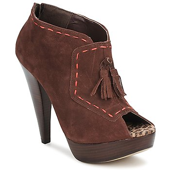 Schoenen Dames Low boots Via Uno KAMILA Brown