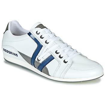 Schoenen Heren Lage sneakers Redskins WARREN Wit / Blauw / Grijs