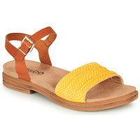 Schoenen Dames Sandalen / Open schoenen IgI&CO 5170711 Cognac / Geel