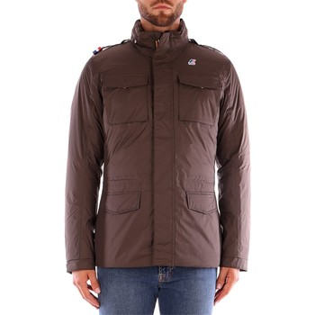 Textiel Heren Wind jackets K-Way MANFIELD THERMO PLUS Bruin