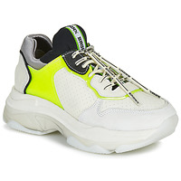 Schoenen Dames Lage sneakers Bronx BAISLEY Wit / Geel