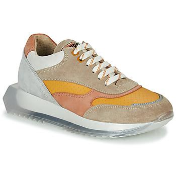 Schoenen Dames Lage sneakers Bronx LINKK-UP Taupe / Roze / Grijs