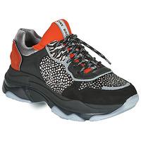 Schoenen Dames Lage sneakers Bronx BAISLEY Zwart / Orange
