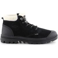 Schoenen Dames Snowboots Palladium Manufacture Pampa LO WT Noir