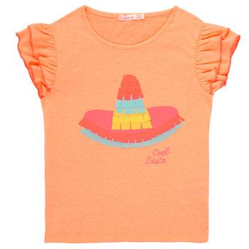 Textiel Meisjes T-shirts korte mouwen Billieblush / Billybandit NORE Orange