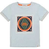 Textiel Jongens T-shirts korte mouwen Billieblush / Billybandit NOLVIO Blauw