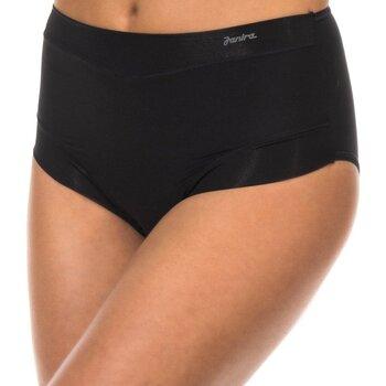 Ondergoed Dames Slips Janira Slip  Micro Fibre Zwart