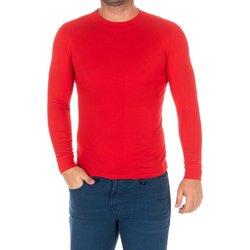 Textiel Heren T-shirts met lange mouwen Kisses And Love Bisous et amour T-shirt long Rood