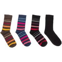 Ondergoed Dames Sportsokken Kisses And Love Pack-4 chaussettes Kisses & Love Multicolour