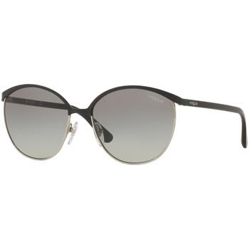 Horloges & Sieraden Heren Zonnebrillen Vogue Lunettes de soleil Zwart