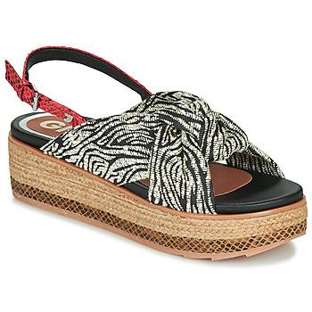 Schoenen Dames Sandalen / Open schoenen Gioseppo NEVELE Zwart / Rood
