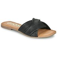 Schoenen Dames Leren slippers Gioseppo JUNIUS Zwart