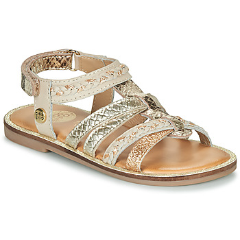 Schoenen Meisjes Sandalen / Open schoenen Gioseppo PIGNOLA Beige / Goud