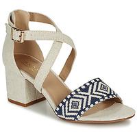 Schoenen Dames Sandalen / Open schoenen André PAOLITA Beige