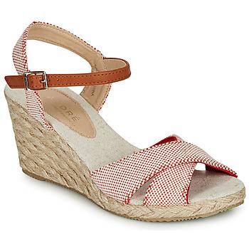 Schoenen Dames Sandalen / Open schoenen André PAULETTA Rood