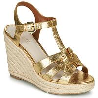 Schoenen Dames Sandalen / Open schoenen André PERLINE Goud