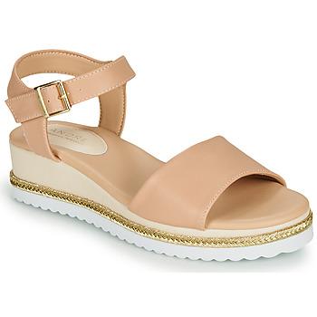Schoenen Dames Sandalen / Open schoenen André PAULEEN Nude