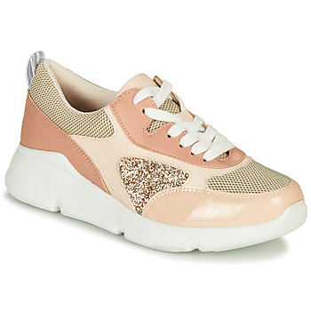 Schoenen Dames Lage sneakers André PORTIA Roze